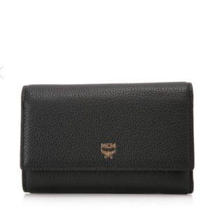 MCM Medium Milla Leather Wallet